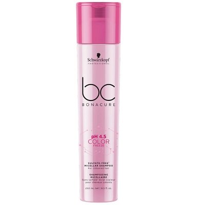 BC BONACURE COLOR FREEZE SULFATE FREE MICELLAR SHAMPOO 250ML