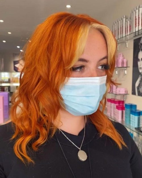 Vibrant Hair Colours at Hoop Hairdressing in Clacton on Sea