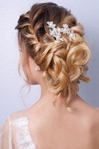 Plaited bridal hairstyles, Hoop Hair Salon, Clacton, Essex